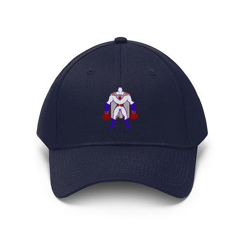 Kettlebell hero 2 Unisex Twill Hat
