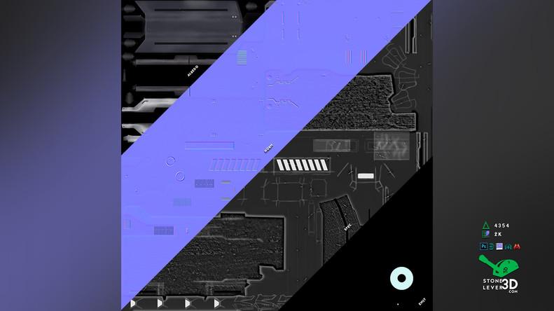 """""""Dream Gun"""" Weapon Prop Model - Texture Sheet"""