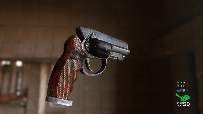 """That Gun"" Weapon Prop Model Replica"