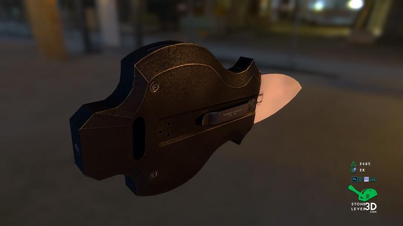 """Aegis"" Switchblade Concept Prop Model"