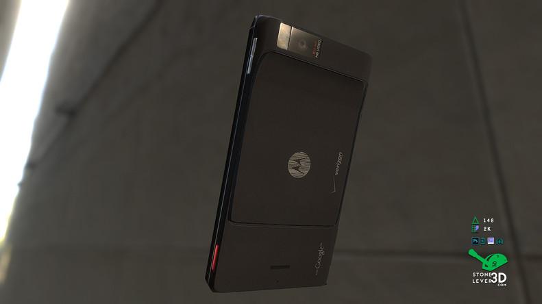 """Droid X"" Smartphone Prop Model"