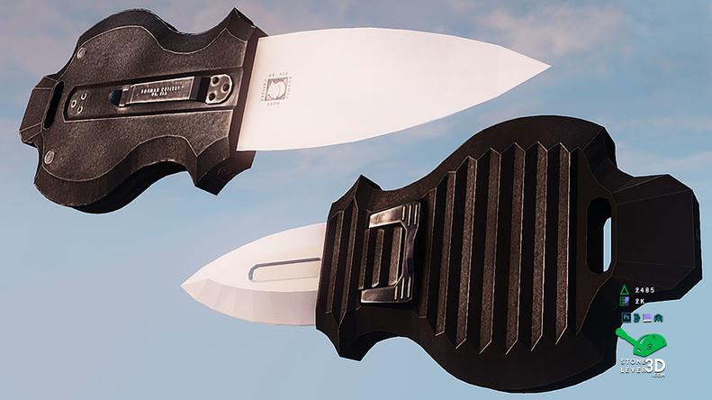 """Aegis"" Switchblade Concept Prop Model - UE4 Render"