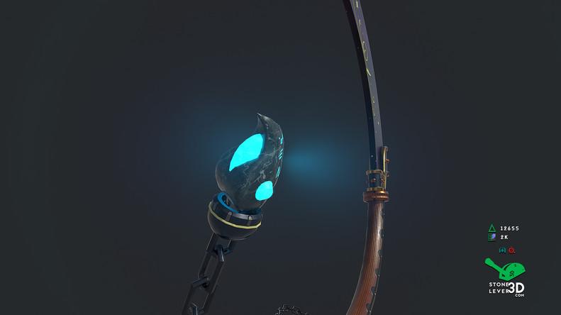 """J'Poki - Novacrusher"" - Sword Concept Prop Model"