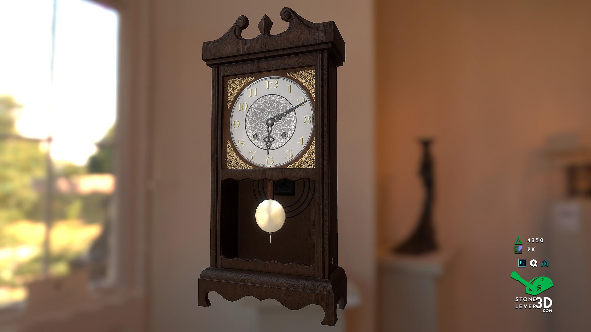 """""""Wall Clock"""" Prop Model"""