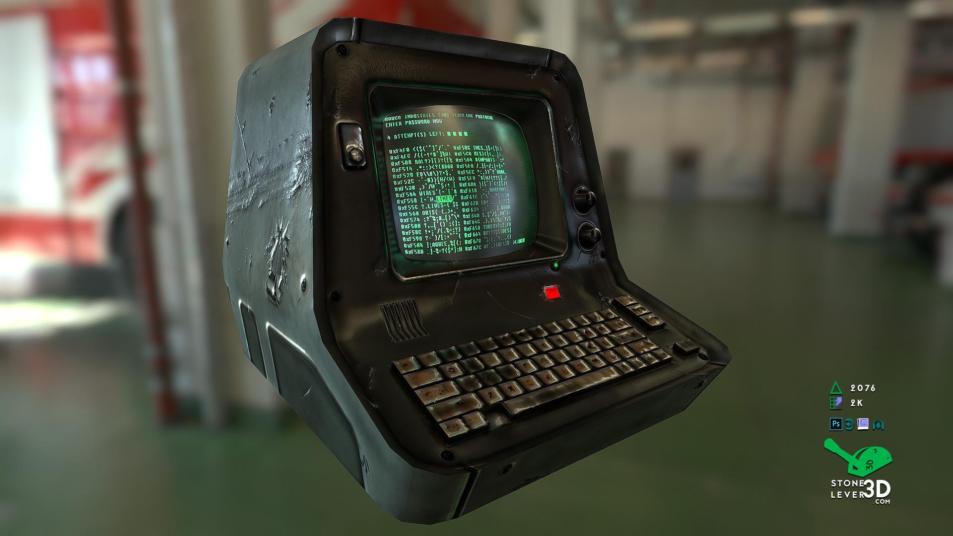 """PC Terminal"" Prop Model Replica"