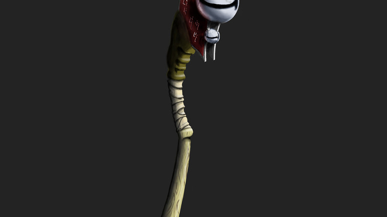 """""""Ritualistic Heavy Mace"""" WoW-Style Weapon Concept"""