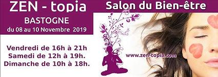 Nous serons présents au Salon Zen-topia à Bastogne