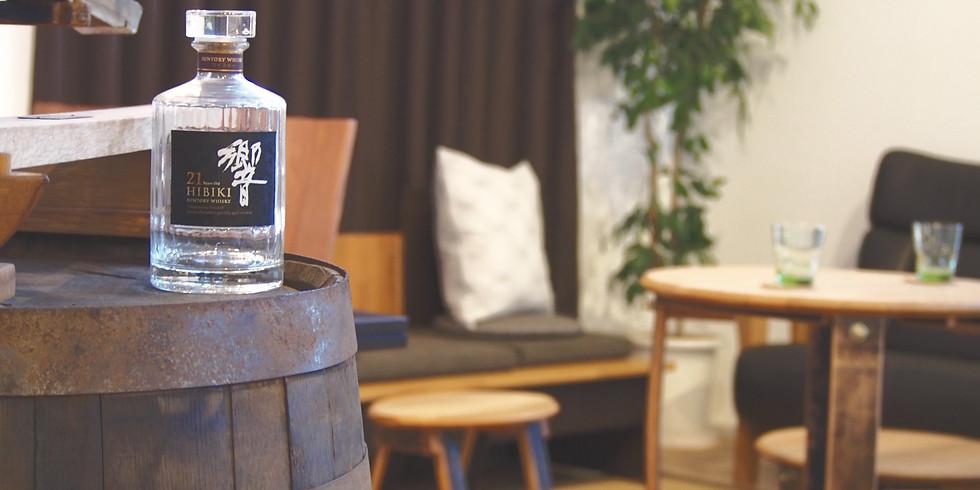 【サントリー樽ものがたりbyカリモクフェア】「ウイスキー樽を感じる贅沢な時間」
