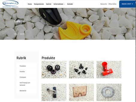 Fotodokumentation der Arbeitsschritte und der Firma Meisterplast AG