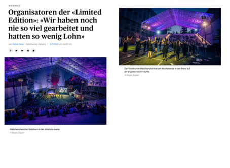 Solothurner Zeitung «Limited Edition»