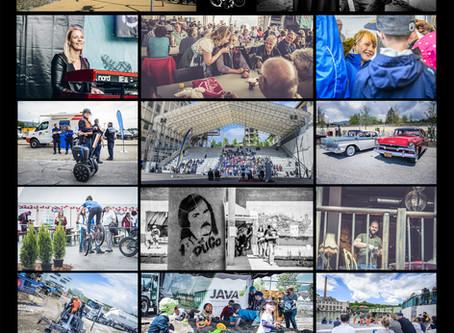 Fotodokumentation: Industrie-Areal Uferpark Attisholz Eröffnungsfest 2019