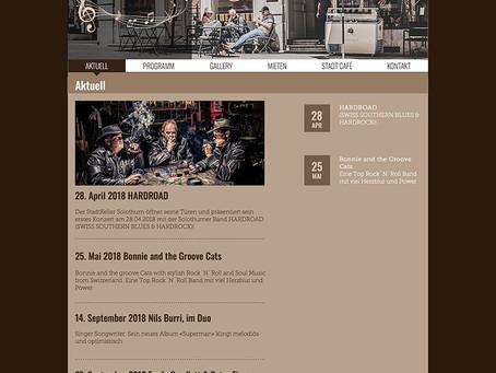 Bilder & Homepage by MD9 StadtKeller/Stadtcafé Solothurn