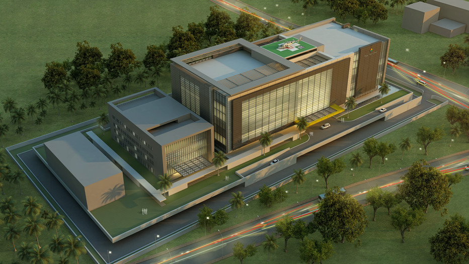 Multispeciality Hospital for Africa Medicity