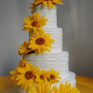 bolo casamento rústico