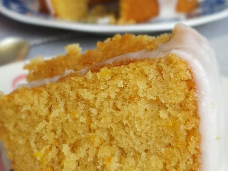 Receita bolo de laranja