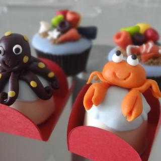 doces modelados fundo do mar