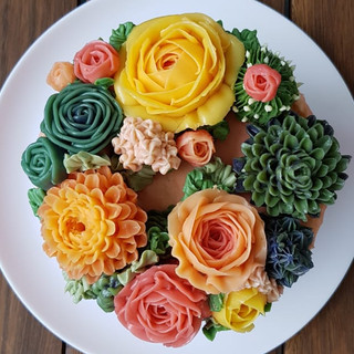 bolo floral
