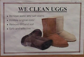 We cleaning UGG boots