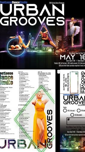 """""""Urban Grooves"""" Recital Package"""