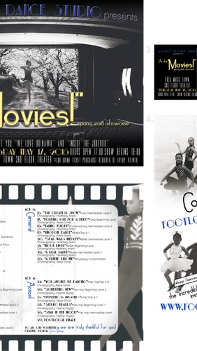 """""""At the Movies"""" Recital Package"""
