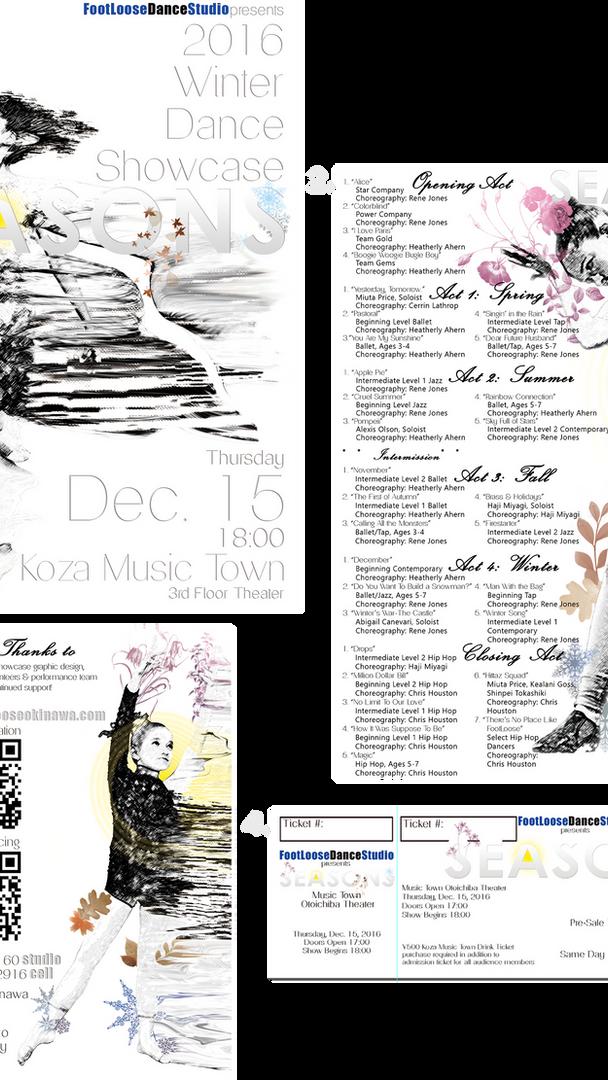 """""""Seasons"""" Recital Package"""