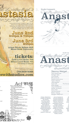 """""""Anastasia"""" Dance Production Package"""