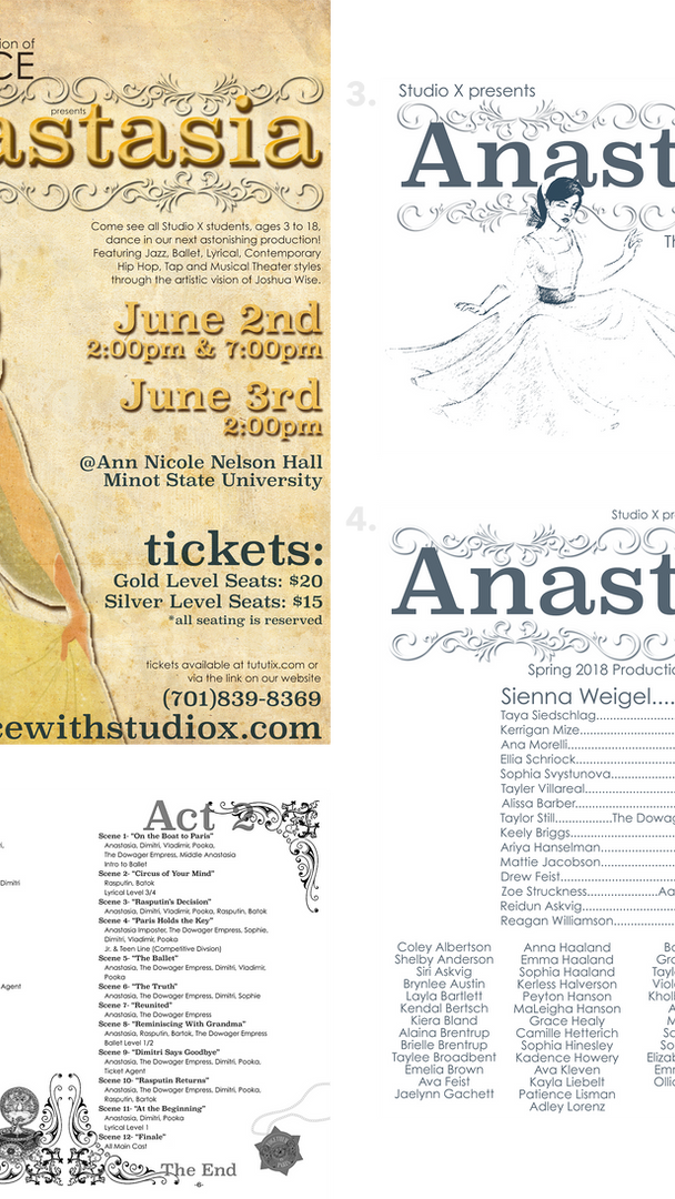 """Anastasia"" Dance Production Package"