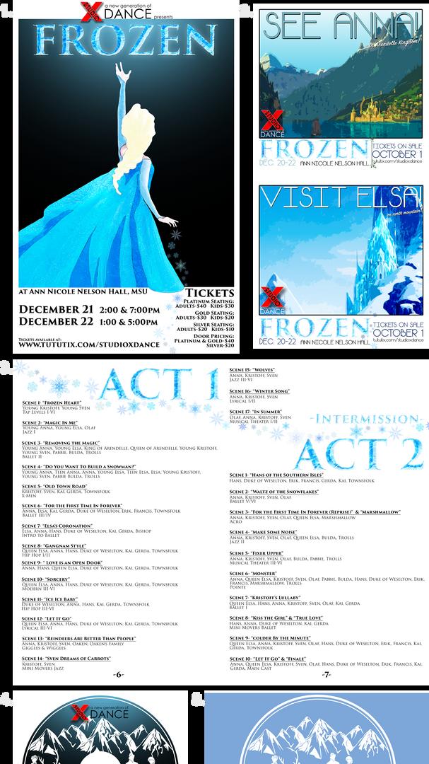 """""""Frozen"""" Dance Production Package"""