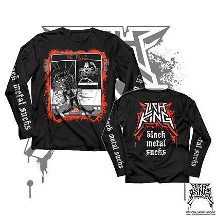 Black Metal Sucks Longsleeve