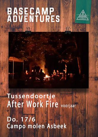 Template Tussendoortjes After work Fire