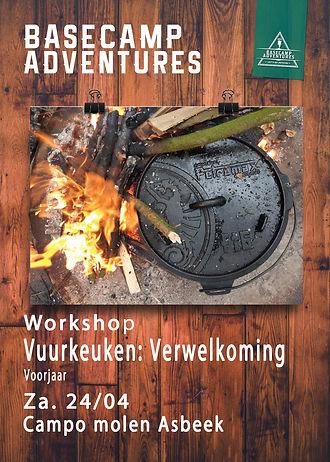 Workshops Vuurkeuken Verwelkoming voorja