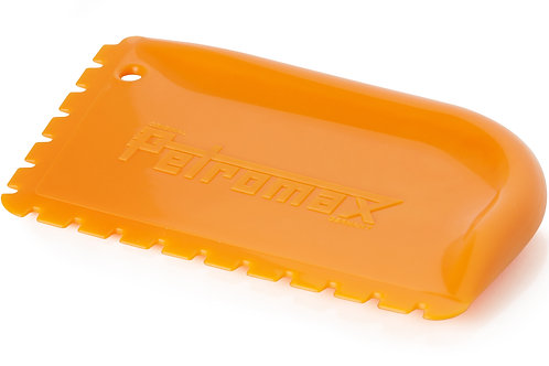 Petromax Schraper met groeven voor gietijzer os-z