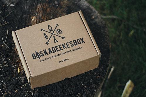 """BOSKADEEKESBOX """"Basis vuur"""" met Firesteel Bio Scout"""