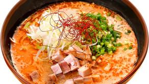 オクヤピーナッツジャパンさんとのコラボ商品。ピーナッツ担々麺が秋メニューとして登場!