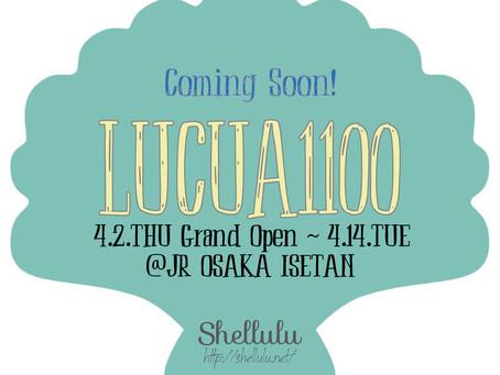 大阪・LUCUA1100 ( JR大阪ISETAN ) 期間限定ポップアップストア