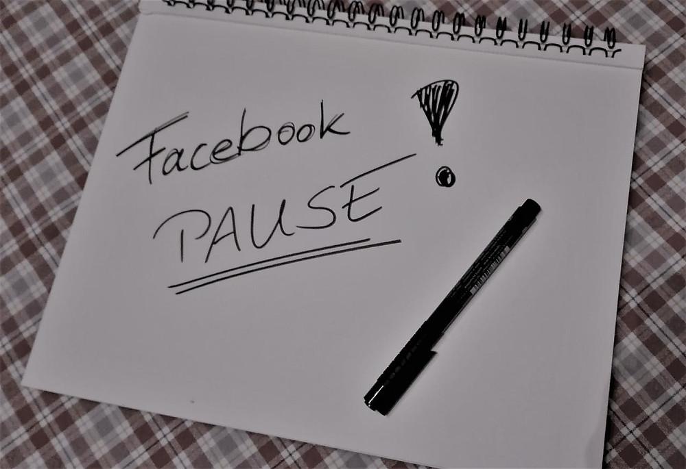Facebook-Pause