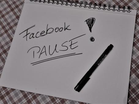 Warum ich eine Facebook-Pause mache