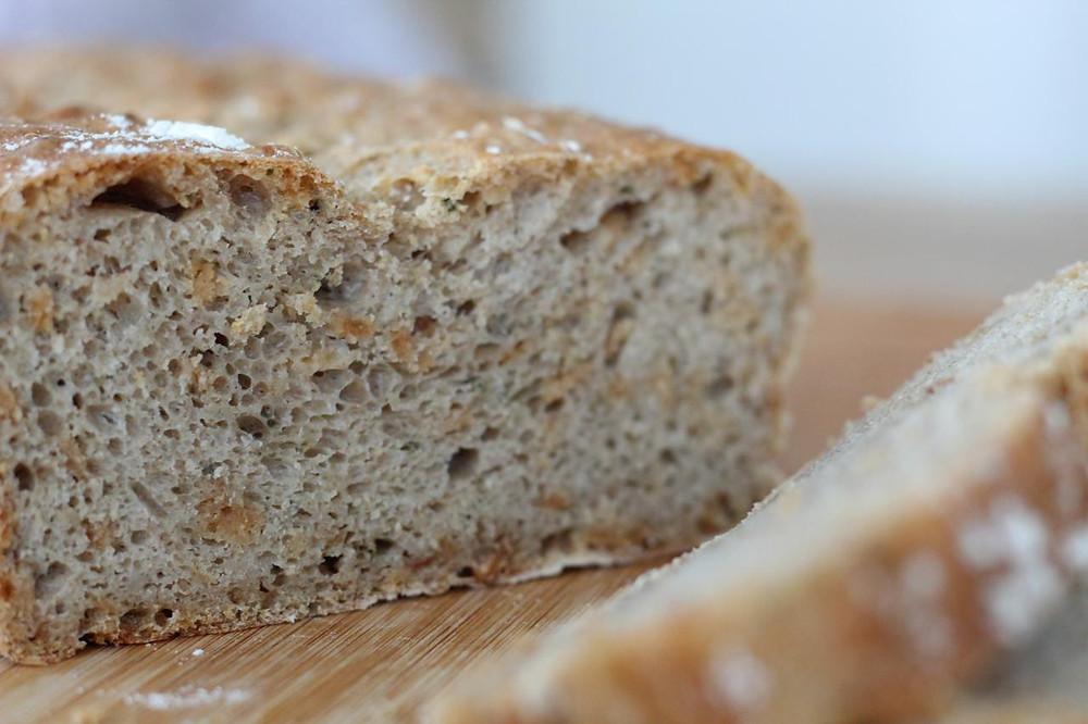 Brot backen Hingabe an das Leben