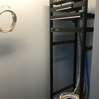 Starting to build out the rack!