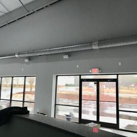 Showroom speakers installed.