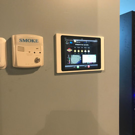 RTI control system interface. Custom designed by Immersive Technologies.