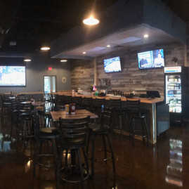 The final result of the main taproom. The client was thrilled with how it turned out!
