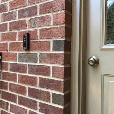 Another Ring Video Doorbell installation.
