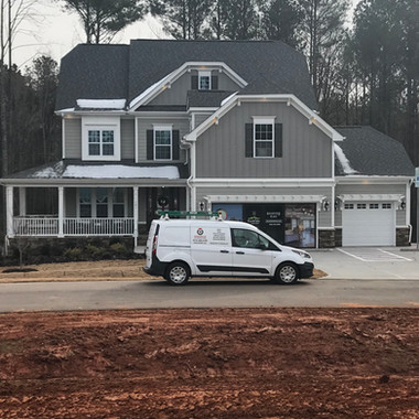 """Model """"Smart Home"""" in Ballentine Place for Mattamy Homes."""