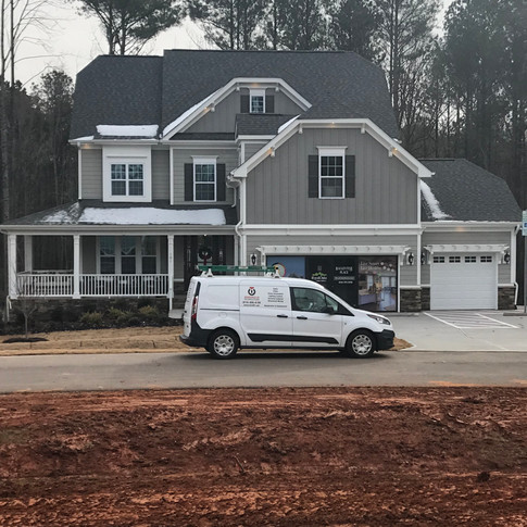 "Model ""Smart Home"" in Ballentine Place for Mattamy Homes."