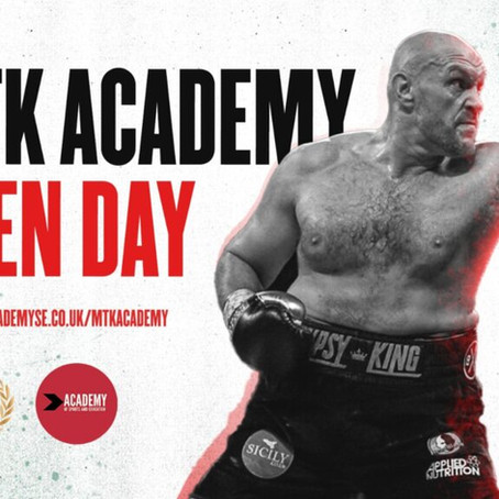 MTK Academy Open Days Announced