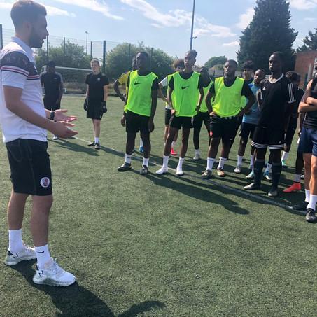 Academy Returns to Training