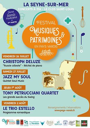 PAYS VAROIS LA SEYNE SUR MER FESTIVAL MUSIQUES & PATRIMOINES