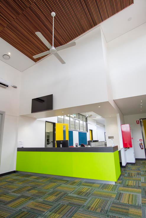 Highfields State Secondary College Interiors