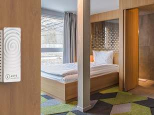 ARVE Swiss Air Quality System now available at THE LAB HOTEL Thun